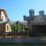 albergo e il castello di torre alfina