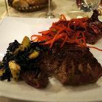 Excellent Argentinian rib eye steak