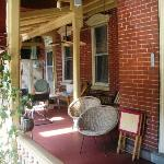 DeFeo's Manor B&B Front Porch