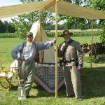 Some of the Confederate Reenactors