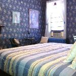 the Blue Room at DeFeo Manor
