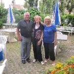 Gäste und Chefin