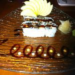 Eel & Cream Chese Sushi Roll