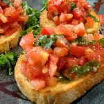 Tipical starter: Bruschetta