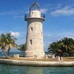 light house on Boca Chita island
