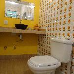 Bathroom of Monkeys room