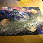 The puzzle another guest and I managed to finish