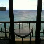 Ocean front room from the 35th floor