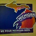 They pour Michigan beer as well as a number of other great microbrews.