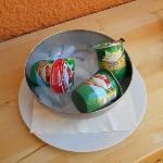 yoghurt on ice