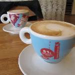 ... and nice coffee!
