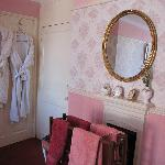 Bedroom. Dressing gowns provided