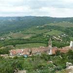 View from the town walls