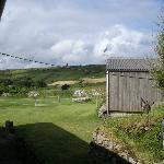 View towards the moor