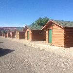 Several of the cabins