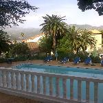 Vue de la terrasse de l'Hôtel Mère