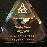 2011 Service Excellence Award