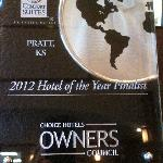 2012 Hotel of the Year Finalist
