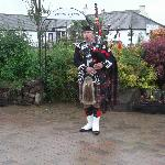 Piper at Blacksmith yard