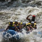 Rafting Upper Pigeon with Chris