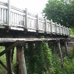 Old Katy RR bridge