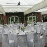 Room designed by our caterers