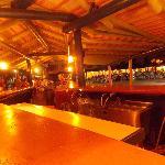Main bar at night