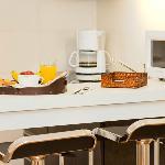 Kitchenette de habitación