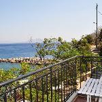 Sea view room balcony of Marina Hotel