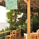 Pergola of Marina Hotel terrace