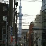 """Sicht vom Hotel auf """"Tokyo Sky Tree"""""""