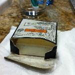 Moldy soap