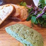 spinach and nutmeg pate