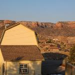 Shed on property and Colorado National Monument