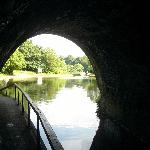 Exiting Chirk Tunnel