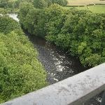 River Dee from the aqueduct