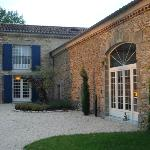 Entrance to the Domaine