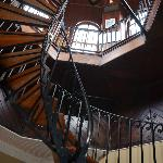 stairs to cupola
