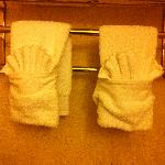 Cute towels......