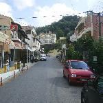 Aghios Gordis...main street.