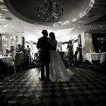 Our first dance in the function room