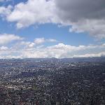 Bogotá desde El Monserrate