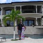 Relasing at the Villa