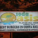 Soda Oasis sign