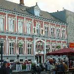 Dronning Louise Restaurant on the Esbjerg Torvet