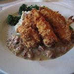 Buttermilk Chicken with Tasso Gravy