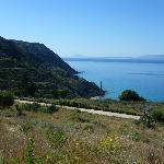 Katelios coast line