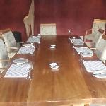Dining room in Lodge