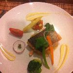 salmon and vegetables main