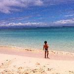 Une plage de l'île...